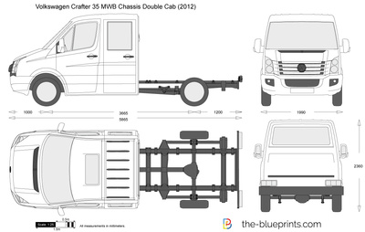 CRAFTER PDF DIMENSIONS VW