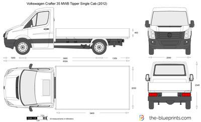 Volkswagen Crafter 35 MWB Tipper Single Cab