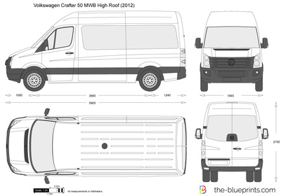 Volkswagen Crafter 50 MWB High Roof