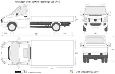 Volkswagen Crafter 50 MWB Tipper Single Cab