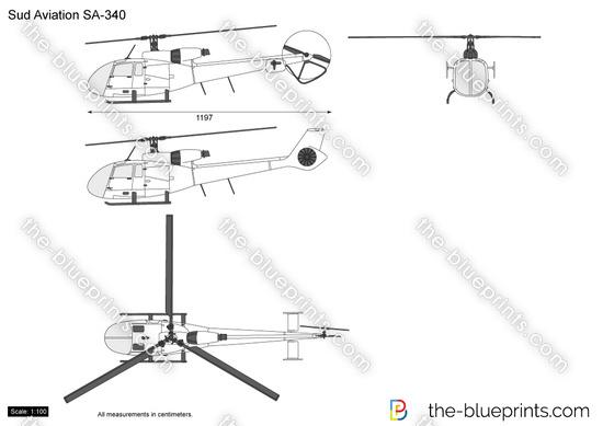 Sud Aviation SA-340