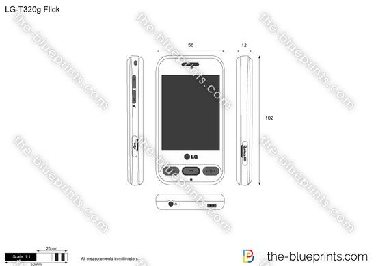 LG-T320g Flick