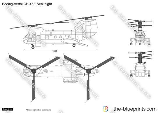 Boeing-Vertol CH-46E Seaknight