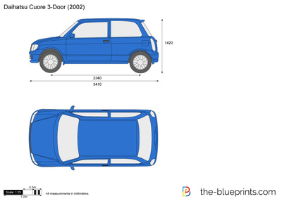 Daihatsu Cuore 3-Door