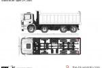 Scania MDIM Tipper CPL 20M3