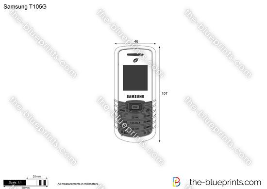 Samsung T105G Tracfon