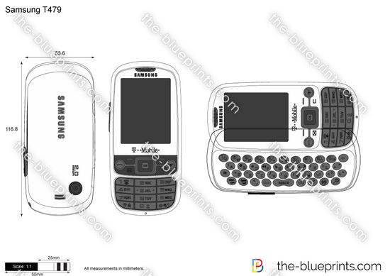 Samsung T479 Gravity