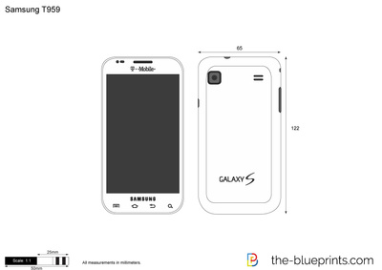 Samsung T959 Vibrant Galaxy S