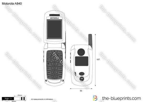 Motorola A840