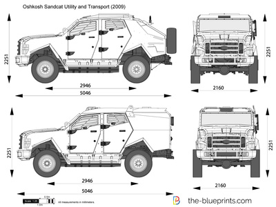 Oshkosh Sandcat Utility and Transport