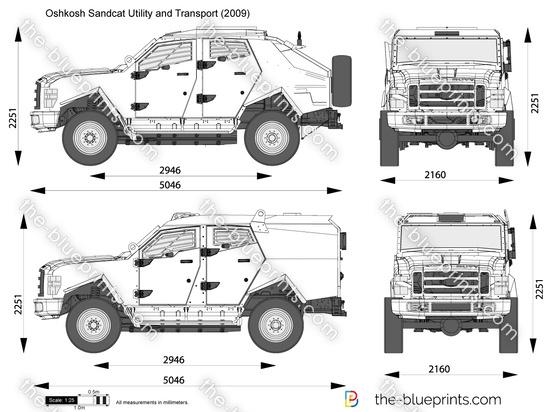 Oshkosh Sandcat Utility and Transport