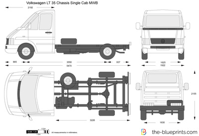 Volkswagen LT 35 Chassis Single Cab MWB