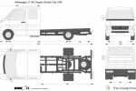 Volkswagen LT 46 Chassis Double Cab LWB (2005)