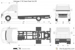 Volkswagen LT 46 Chassis Single Cab LWB (2005)