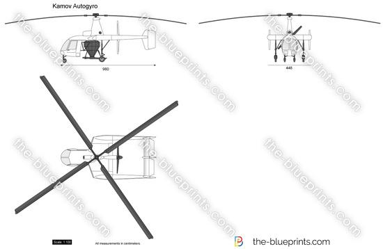 Kamov Autogyro