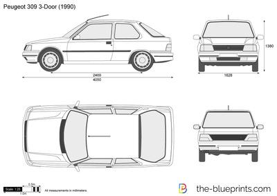 Peugeot 309 3-Door (1990)