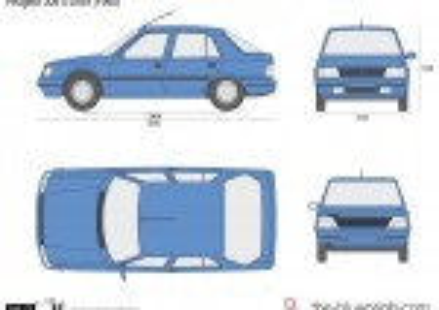 Peugeot 309 5-Door (1990)