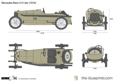 Mercedes 115HP 4.5 liter Grand Prix (1914)