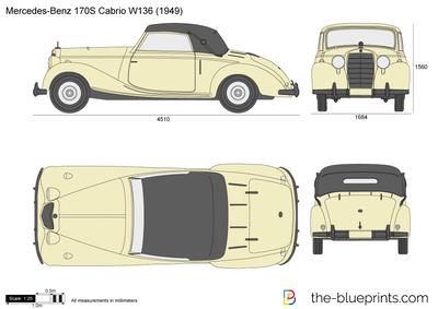Mercedes-Benz 170S Cabrio W136 (1949)
