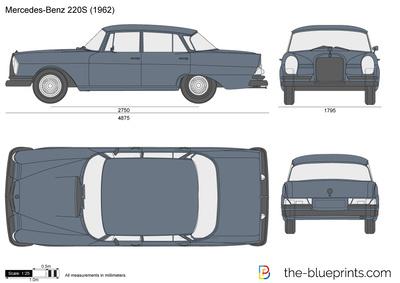 Mercedes-Benz 220S W111 (1962)