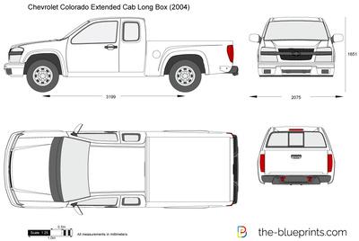 Chevrolet Colorado Extended Cab Long Box