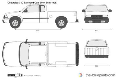 Chevrolet S-10 Extended Cab Short Box (1998)