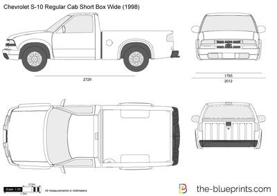 Chevrolet S-10 Regular Cab Short Box Wide (1998)