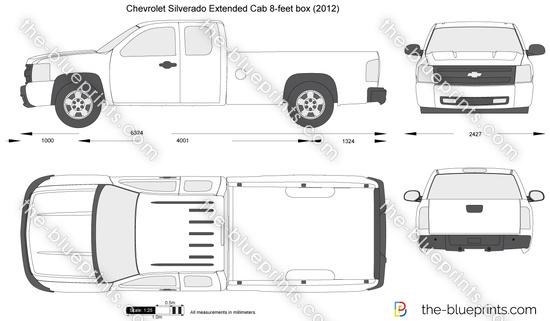 Chevrolet Silverado Extended Cab 8-feet box