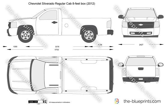 Chevrolet Silverado Regular Cab 8-feet box