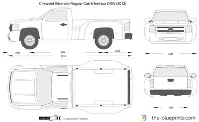 Chevrolet Silverado Regular Cab 8-feet box DRW