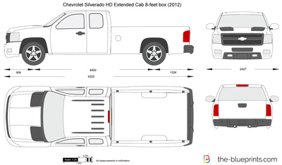 Chevrolet Silverado HD Extended Cab 8-feet box