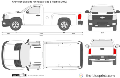 Chevrolet Silverado HD Regular Cab 8-feet box