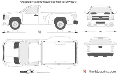 Chevrolet Silverado HD Regular Cab 8-feet box DRW