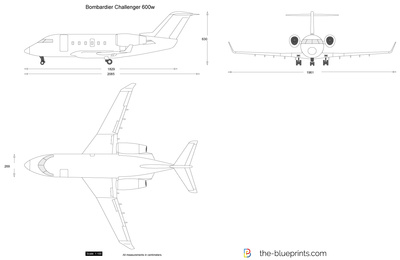Bombardier Challenger 600w