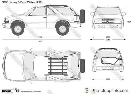 GMC Jimmy 3-Door Wide