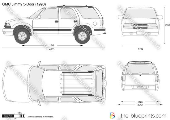 GMC Jimmy 5-Door