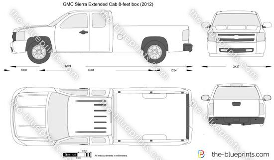 GMC Sierra Extended Cab 8-feet box