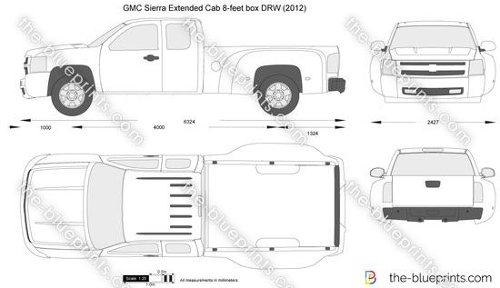 GMC Sierra Extended Cab 8-feet box DRW