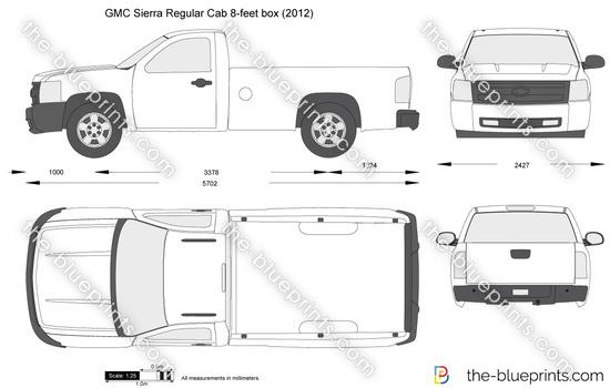 GMC Sierra Regular Cab 8-feet box