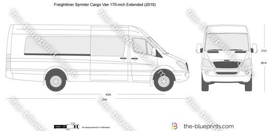 Freightliner Sprinter Cargo Van 170-inch Extended