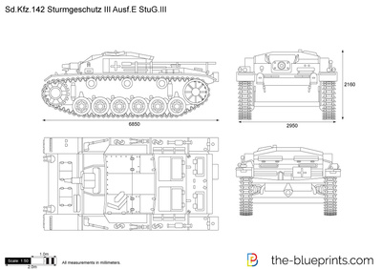 Sd.Kfz. 142 Sturmgeschutz III Ausf.E StuG.III