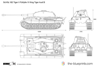 Sd.Kfz. 182 Tiger II Pz.Kpfw. VI King Tiger Ausf.B