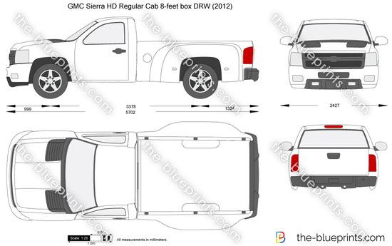 GMC Sierra HD Regular Cab 8-feet box DRW