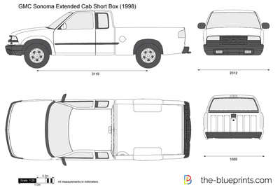 GMC Sonoma Extended Cab Short Box