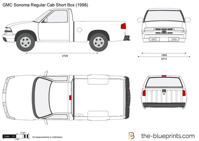 GMC Sonoma Regular Cab Short Box