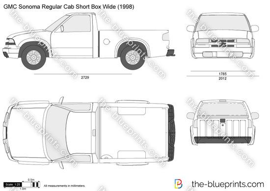 GMC Sonoma Regular Cab Short Box Wide