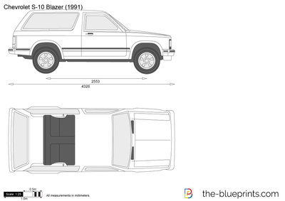 Chevrolet S-10 Blazer 3-door