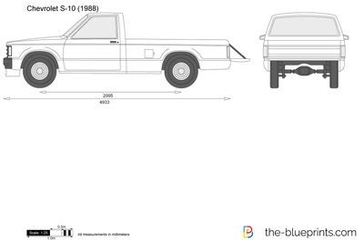Chevrolet S-10 Long Bed