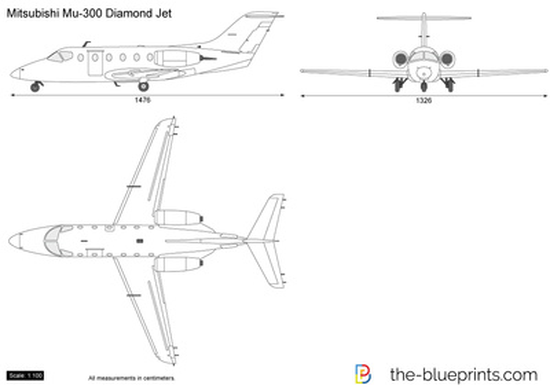 Mitsubishi Mu-300 Diamond Jet