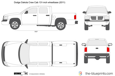 Dodge Dakota Crew Cab 131-inch wheelbase